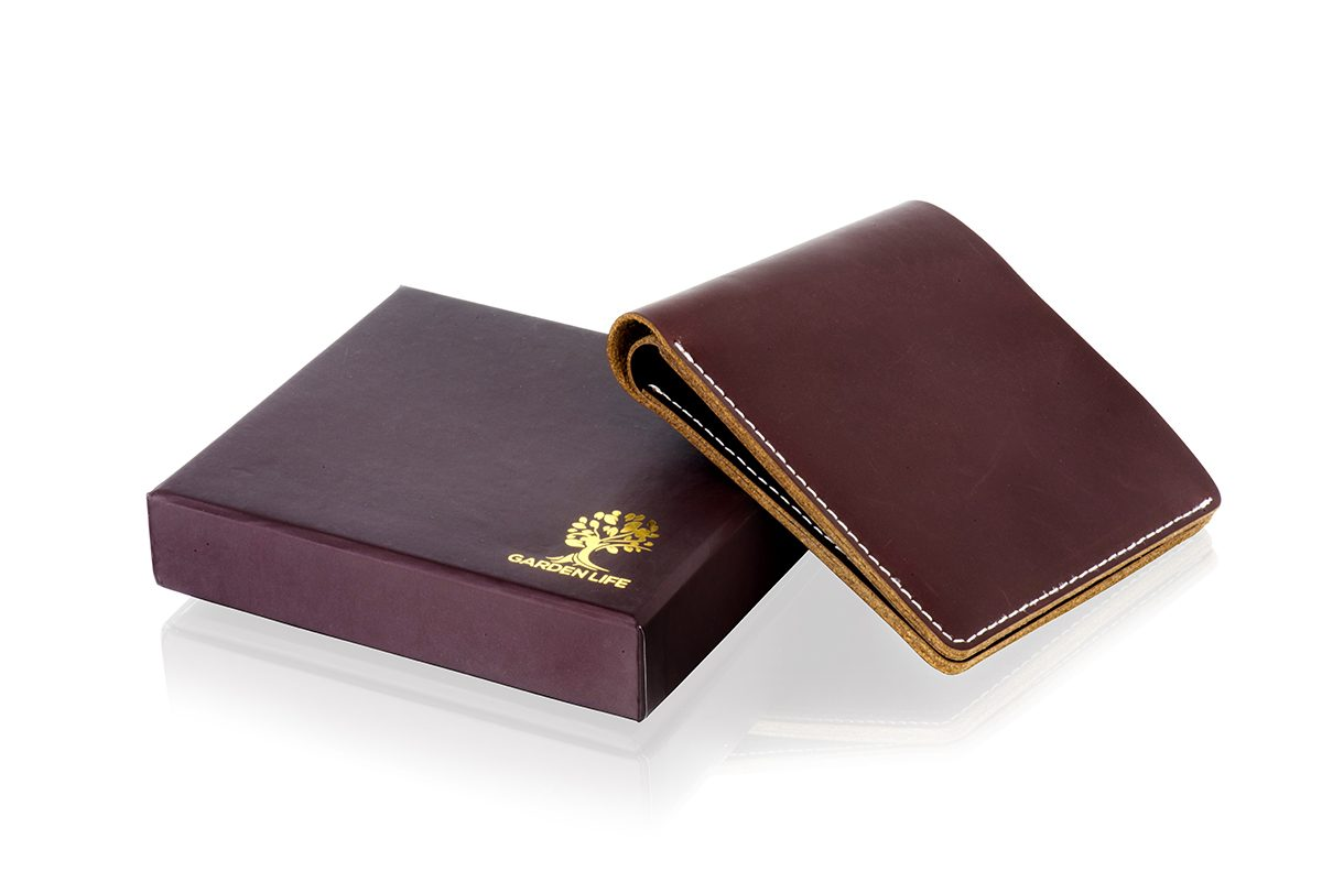 Deep Brown Simplistic Men s Leather Wallet – Garden Life 9676c781d26ea